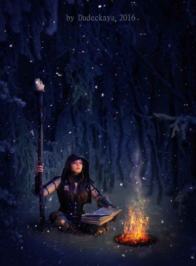 Sorceress. by dudeckaya