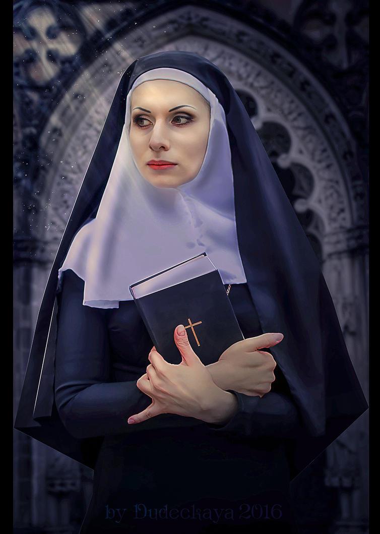 Nun by dudeckaya