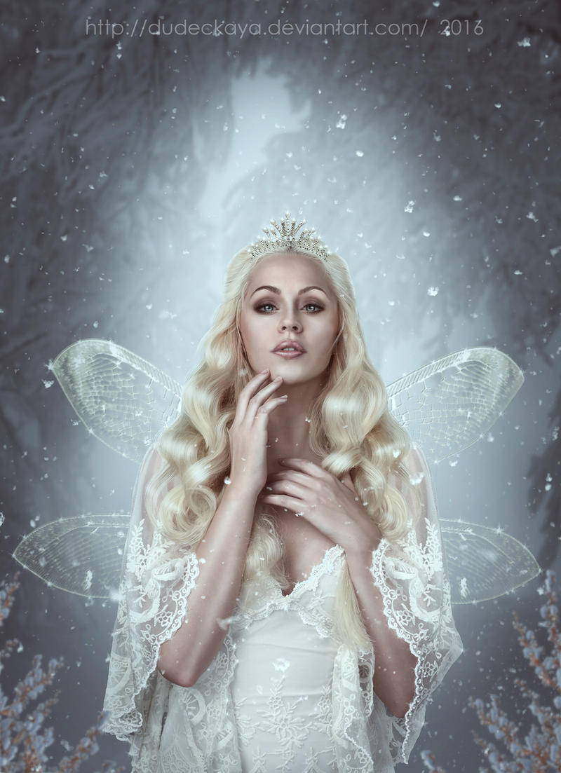 winter fairy by dudeckaya
