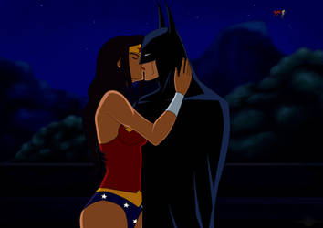 Batman and Wonder Woman - After Apokolips by mitgard-knight