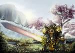 Commission - Warrior of Guild Wars II