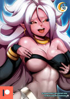 Patreon - Dragon ball FighterZ _ Android 21 a by mitgard-knight