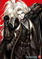 Dakimakura - Alucard _ Castlevania by mitgard-knight