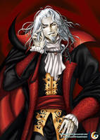 Dakimakura _Castlevania Dracula Vlad Tepes game by mitgard-knight