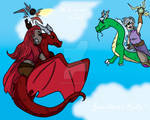 Battle of the Dragon Riders
