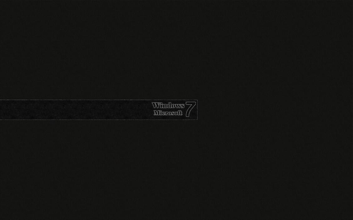 Windows 7 Black HD Wallpaper > windows 7 papel de parede , 1920x1080 Wallpaper
