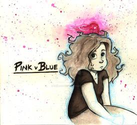 Pink V Blue