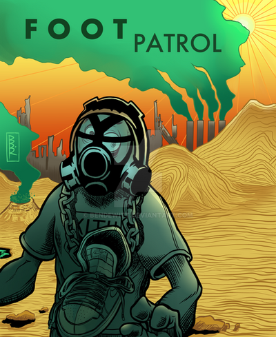 Project Destroyer Foot Patrol Support Ad by BenDewitt