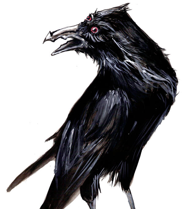 The Raven [pet app] Demon_Raven_by_illWillMayCry