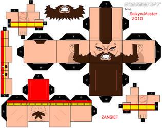 Zangief Cubeecraft by Saikyo-Master