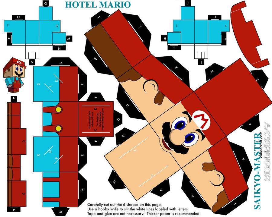 Hotel Mario Cubeecraft By Saikyo Master