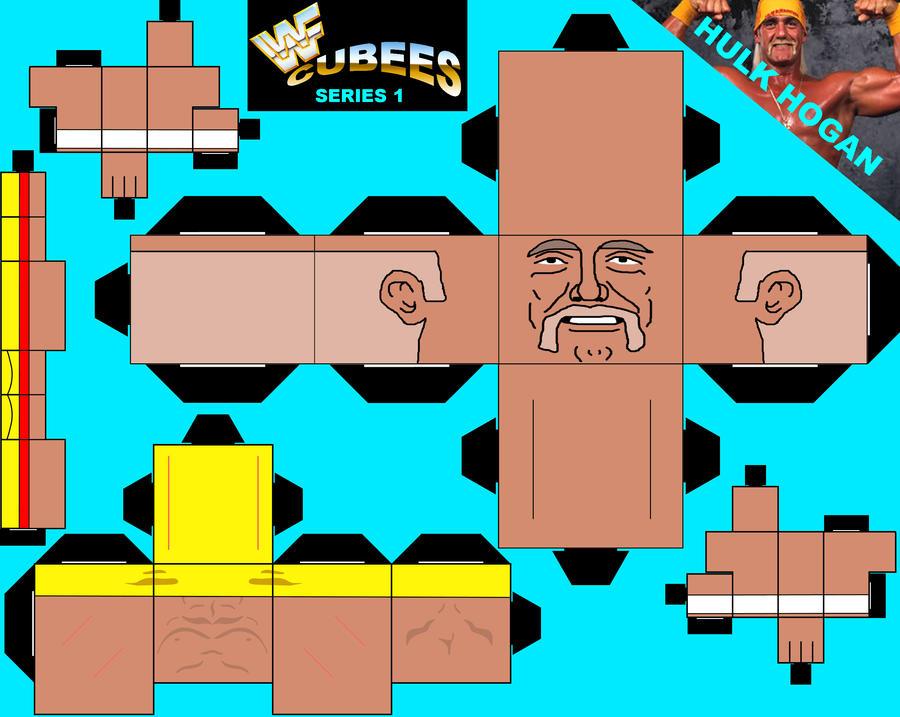 WWF CUBEES HULK HOGAN By Saikyo Master