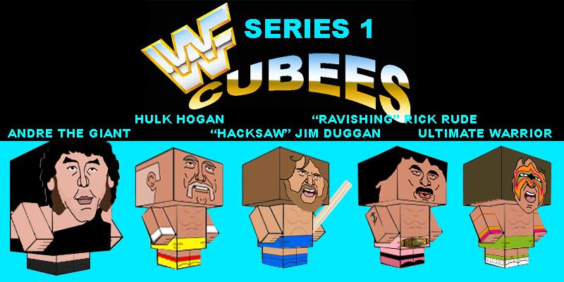 WWF CUBEES SERIES 1 by Saikyo-Master
