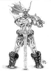 Norse Berserker by jgmfc