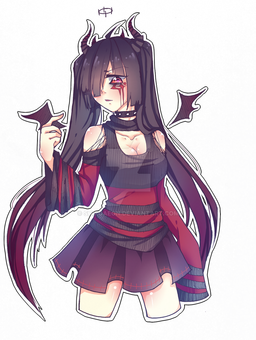 anime demon girl