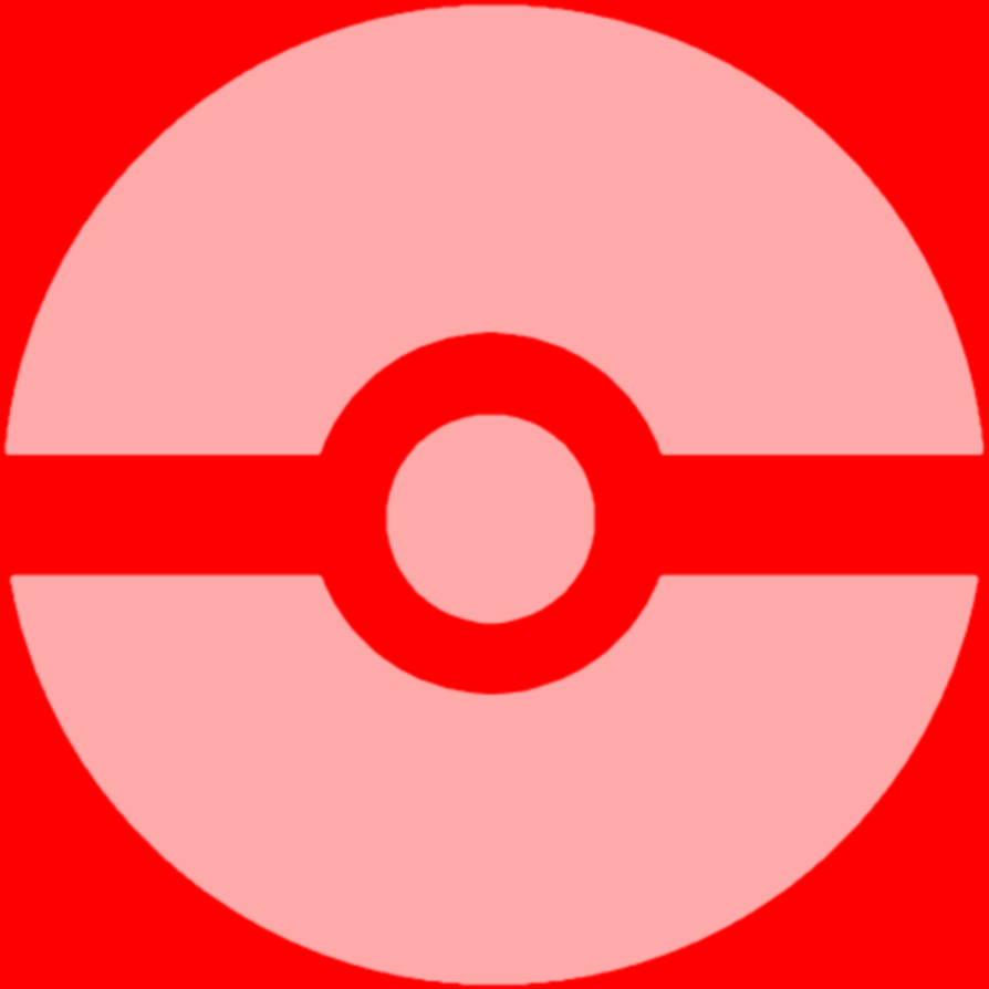 Red Equality Pokeball by ToasterDefinition