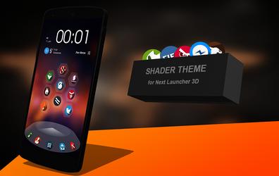 Next Launcher Theme Shader by Karsakoff
