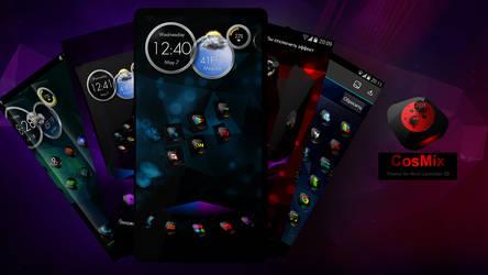 Next Launcher Theme CosMix 3D by Karsakoff