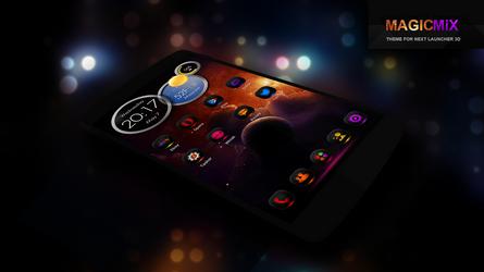 Next Launcher Theme MagicMix by Karsakoff