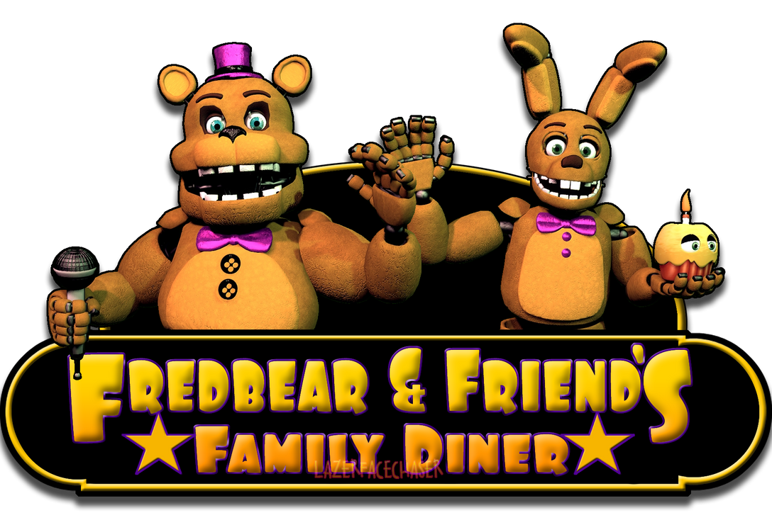 Fredbear 39 s family diner logo v2 by cynfulentity on deviantart for Family diner