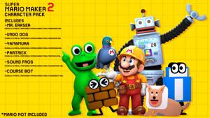 Super Mario Maker 2 Character Pack Release for SFM