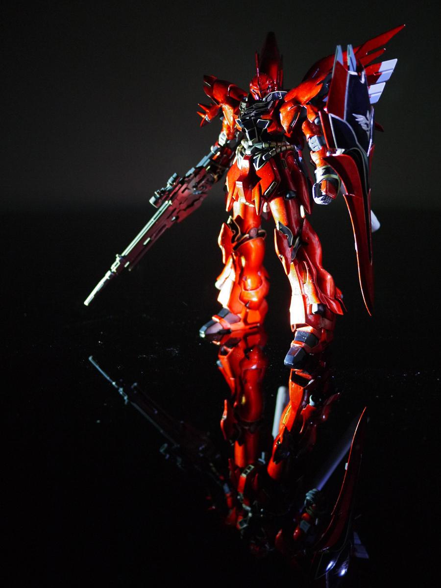 MG Sinanju metallic custom by Lord-Plankton