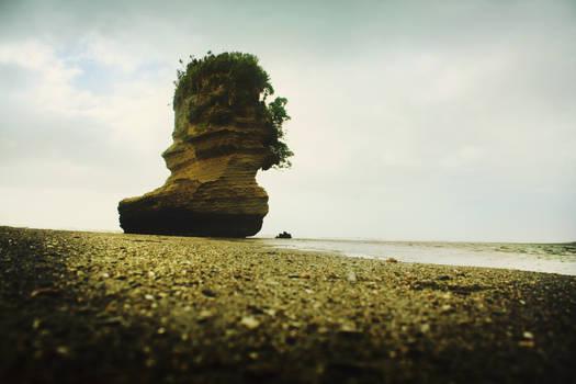 drifting island