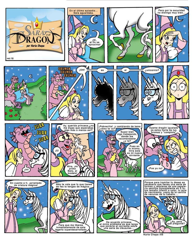Sara y el Dragon 18 by rainbowmermaid