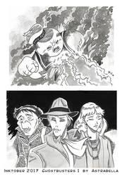 Ghostbusters 1-Inktober