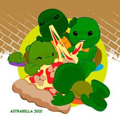 Tortugas Ninja bebe
