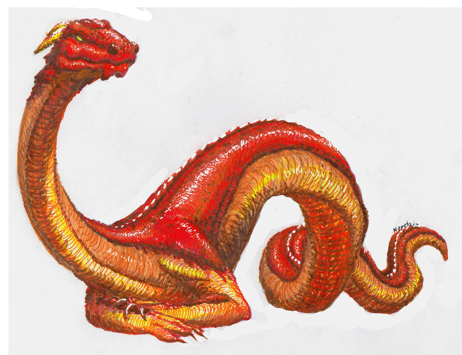 Knucker by ajelo on deviantart for Gimnasio 5 dragones
