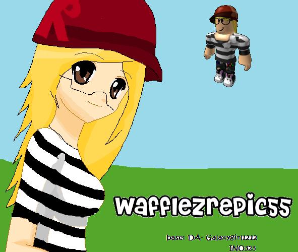 Wafflezrepic55 REQUESTED ROBLOX By XxInoYamanakaxX On