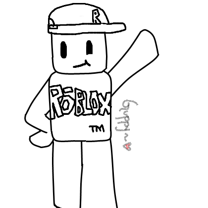 Roblox Guest Lineart By Xxinoyamanakaxx