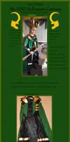 My LOKI Costume Tutorial: Coat/ Cape