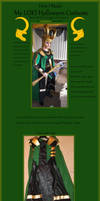 My LOKI Costume Tutorial: Coat/ Cape by The-Lighted-Soul