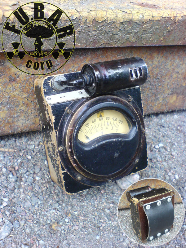 Zone Tripper Geiger Counter by Zaxnot