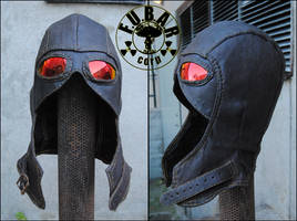 Hunters Leather Hood by Zaxnot