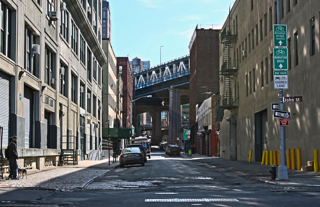 John street in brooklyn by denimf on deviantart for Art and craft store in brooklyn ny