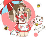 Bee and Puppycat  =^.^=