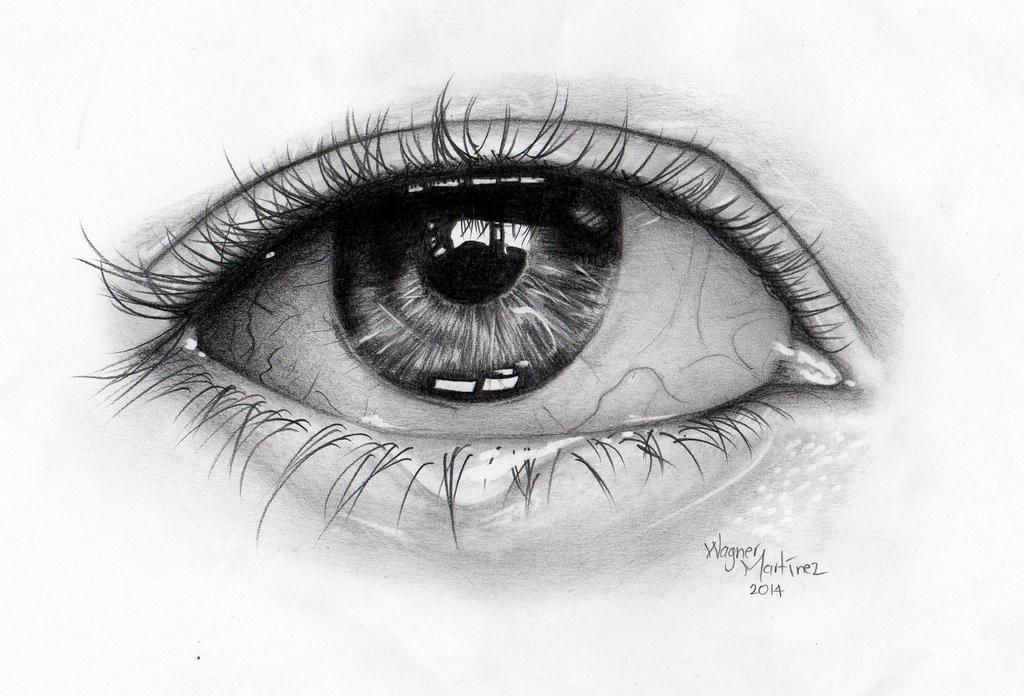 ojo hecho a grafito eye made with graphite by faleru