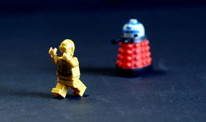Lego C3PO by Hongkongcavalierdave