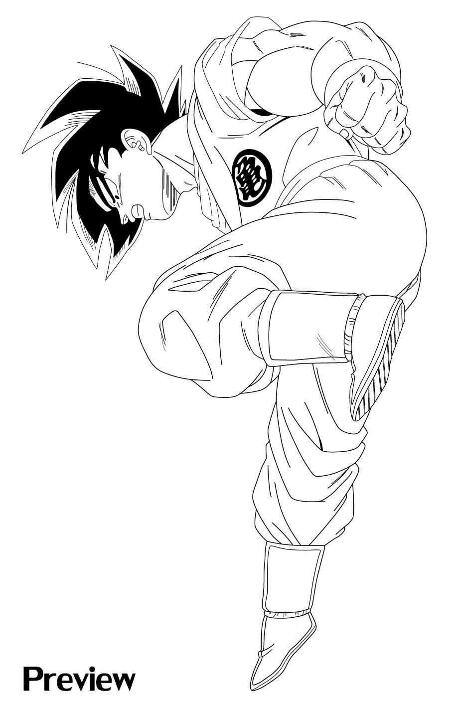 Goku Kaioken - Preview by TK-Master on DeviantArt