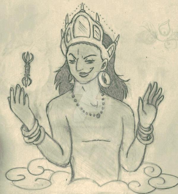Vajrapani Yaksha by Invokingvajras