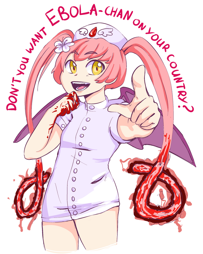 Don't you want Ebola-chan? by Corelle-Vairel