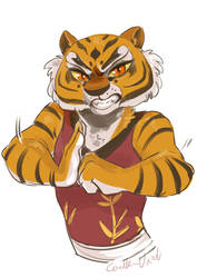 Tigress : Facial expression request by Corelle-Vairel