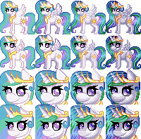 Celestia Icons by Trilled-Llama