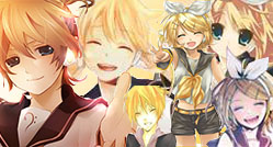 Kagamine Len And Rin by moondrop1XD