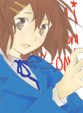 Yui from K-ON! by moondrop1XD