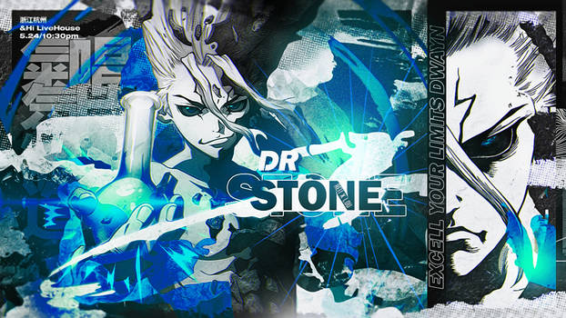 [COLLAB WITH LOUNA] - DR STONE FOR DWAYN