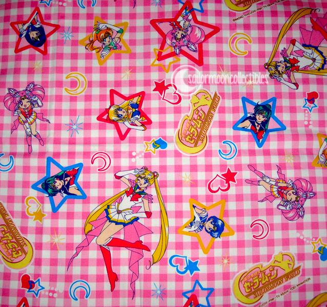Sailor moon world fabric by onsenmochi on deviantart for Moon print fabric